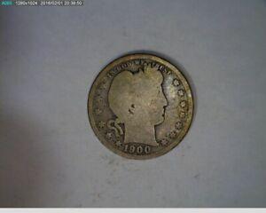 1900 Barber Quarter ( 42-148 10m1 )