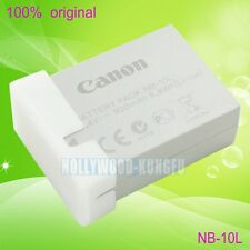 Genuine Canon NB-10L NB10L Battery for Canon PowerShot SX40 HS SX50HS IS CB-2LCE
