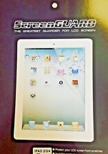 2 x Clear Screen Protector for Apple iPad2 /iPad3 &4-SAME DAY DISPATCH-UK Seller