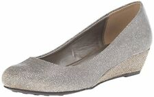 CL by Chinese Laundry Marcie Champagne Platforms & Wedges Womens Heels Size 6