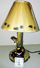 Bearfoots Bears by Jeff Fleming Bear With Cubs Lamp Big Sky Carvers New in Box