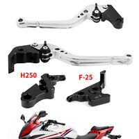 Long Clutch Brake Lever fits Honda CBR500R 13-15 CBR300RR CB300F 14-16 Silver NZ