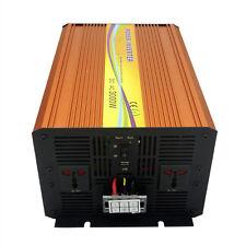 220V 3000W off Grid Pure Sine Wave Power Inverter Peak 6000W for Solar Panel Kit