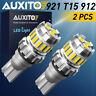 LED Reverse Backup Light 6500K Bulb 912 921 for Chevrolet Silverado 1500 14-2020