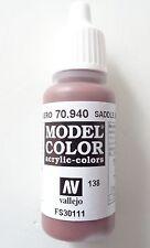 (12,94€/100ml) Vallejo Model Color, Saddle Brown, 70.940, 17ml, Neu