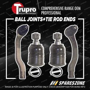 Trupro Ball Joint Tie Rod End Kit for Honda Civic CRX ED EE 10/1987-5/1992