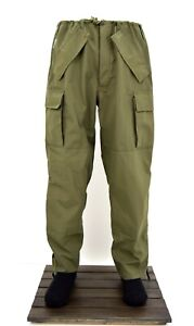 Army Wet Weather Goretex Over Trousers Waterproof Combat Pants Trouser Military