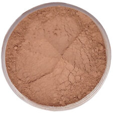 Mineral Foundation Makeup MEDIUM TAN Acne Rosacea Full Cover Natural Finish