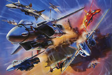 Macross Generation of Valkyries Poster 12inchesx18inches Free Shipping