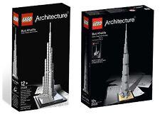 LEGO ® Architecture 21008 + 21031 Burj Khalifa-confezione doppia NUOVO OVP NEW MISB NRFB