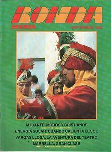 IBERIA INFLIGHT MAGAZINE RONDA SEPTEMBER 1983 WITH ROUTE MAP IB SPAIN