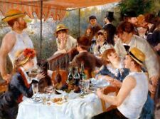 Pierre-Auguste Renoir The Luncheon of the Boating Party Giclee Canvas Print