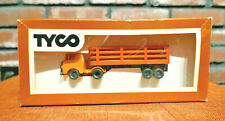 Vintage HO Tyco Truck Cattle Car Depot Trailer & Cab 935-3 With Box READ DESC