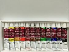 FACE AND BODY PAINT MAKEUP PARTY COSTUME FACEPAINT (12 tube)