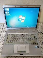 "HP COMPAQ PRESARIO C500 2GB 60GB INTEL CELERON M520 1,60GHz 15"" WIN 7 32 BIT"
