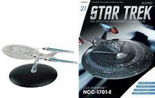 Eaglemoss Star Trek Enterprise NCC 1701-E - PRISTINE SEALED Model & Mag #21 E