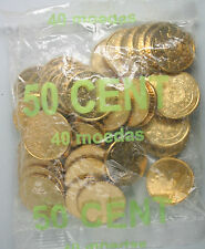 Ek // Sachets d'origine 50 Cent Portugal 2002 : 40 Pièces