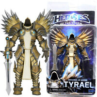 "NECA Tyrael Diablo Archangel Justice Heroes of Storm Blizzard 7"" Action Figure"