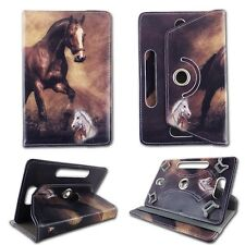 """Tan Horse For Acer Iconia 10.110"""" Tablet Case Cover Fashion Pu Leather"""