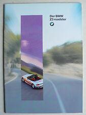 Prospekt BMW Z 3 roadster (1.8 / 1.9), 2.1995, 38 Seiten
