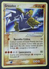 GROUDON 111/123 ( EXC ) Gold Star Ultra Rara in Italiano POKEMON Ex Specie Delta