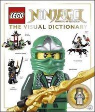Lego Ninjago Diccionario Visual (tapa Dura, 2014) con Zane reiniciado Minifigura