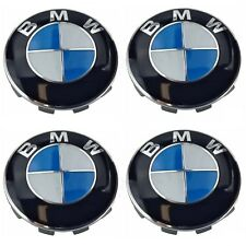 For BMW 1 3 5 6 7 Series Wheel Center Cover Emblem Sign Logo Hub Cap Set 4 OES