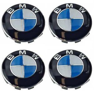 For BMW 1 3 5 6 7 Series Wheel Center Cover Emblem Sign Logo Hub Cap Set 4 OES