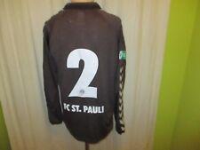 FC St.Pauli hummel Langarm Junioren Matchworn Trikot 2014/15 + Nr.2 Gr.M TOP