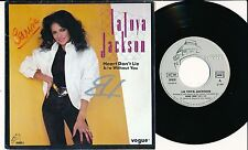 "LATOYA JACKSON 45 TOURS 7"" FRANCE HEART DON'T LIE"