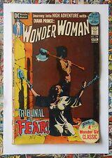 WONDER WOMAN #199 - APR 1972 - JEFF JONES BONDAGE COVER! - VG+ (4.5) HOT!!
