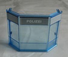 13304 - Playmobil aus Set 4263 Polizei Hauptquartier Wand Glaswand groß Rundung