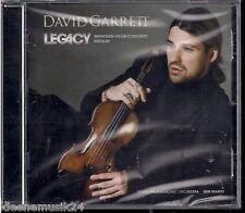 """CD David Garrett """"Legacy"""" Neu/OVP Beethoven, Kreisler"""