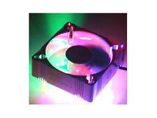 EverCool 60x60x25mm Aluminum Fan w/ 4 Color LED,B/G/R/O