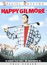 Happy Gilmore DVD Special Edition WITH CASE & COVER ARTWORK BUY 2 GET 1 FREE