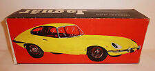 LENDULET AUTO Hungary Friction 1970s JAGUAR XKE --> BOX ONLY <-- 10.75 x 4 x 3""