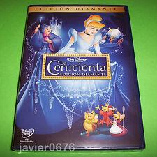 LA CENICIENTA CLASICO DISNEY NUMERO 12 - DVD NUEVO Y PRECINTADO EDICION DIAMANTE