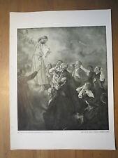 Fritz von Uhde - Christi Himmelfahrt / Kunstdruck