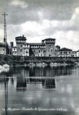 """"""" MANTOVA : Castello S. Giorgio visto dal Lago """"   Viaggiata Anno 1961"""