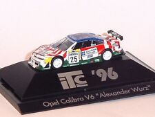 1:87 HERPA 1996 Opel Calibra V6 #25 Wurz Opel Team Joest COLLECTABLE MODEL CAR