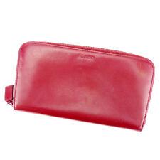 Auth PRADA purse Wallet logo ladies used J20890