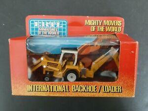 NIB! Vintage ERTL International Miniatures Of The World 1:64 Backhoe / Loader