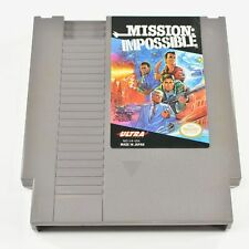 Mission Impossible NES Nintendo Entertainment System (Tested) 6255