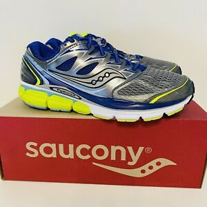 Saucony Hurricane ISO Fit Women's Gray Athletic Running Shoes SIZE 10.5 Wide