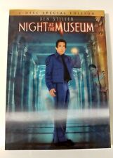 Video DVD - Night at the Museum - 2 Disc 3D Lenticular Excellent (EX) WORLDWIDE