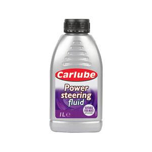 Carlube Universal Car Power Steering Fluid Prevent Wear Oxidation 1 Litre