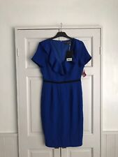 Paper Dolls Blue Frill Dress Size 12 New With Tags
