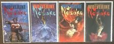 Wolverine Netsuke Part #1,2,3,4 Marvel Comics Pratt Set Lot Nm