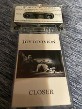 Joy Division Closer cassette 1st U.S. pressing on the Factory label RARE