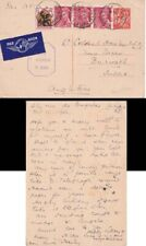G.B./France 1944 p.s card from lourdes  to Lt Colnel Hanley D.S.O. M.C in UK